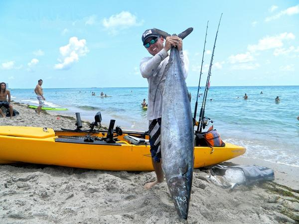 Wahoo for Kayak fishing florida