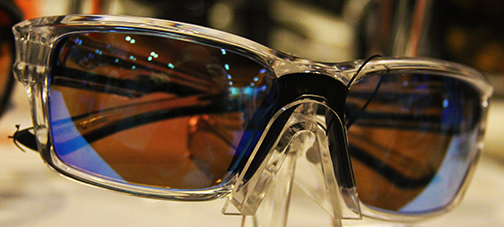 64a0e10716 Flying Ffisherman s Morocco sunglasses with crystal frames and amber lenses.