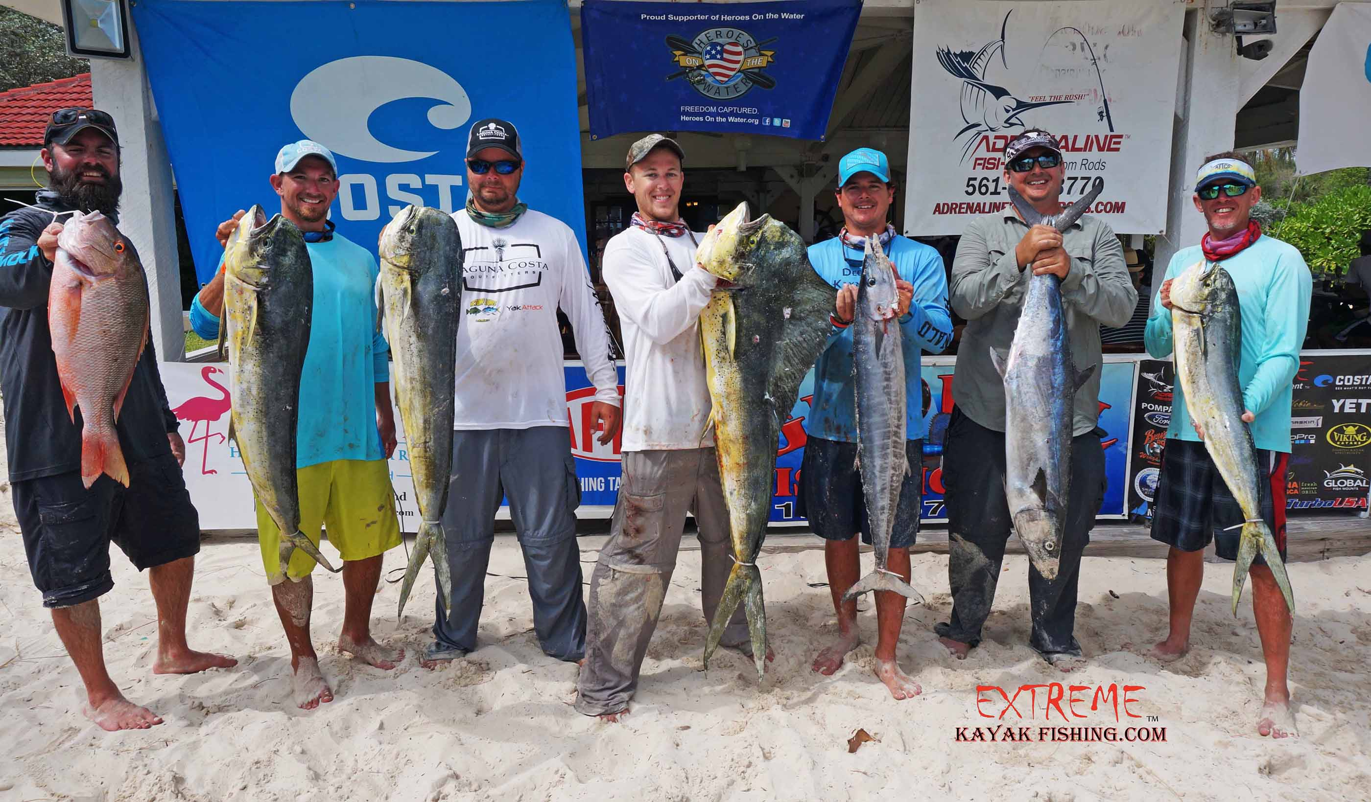 Extreme Kayak Fishing S Battle In The Bahamas 2015 Draws